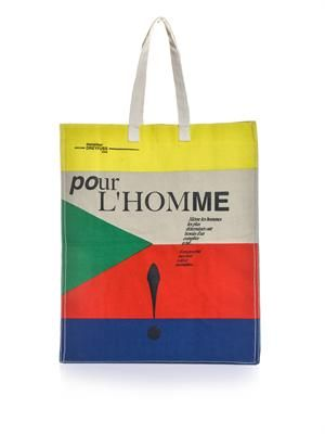 Hector canvas tote bag