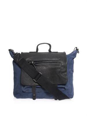 Thomas leather messenger