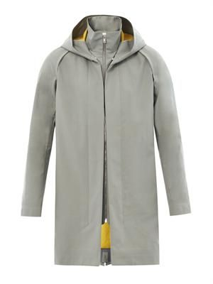 Cile technical water-resistant parka