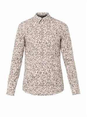 Camouflage-print shirt