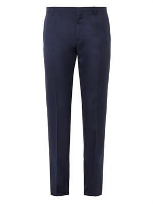 Techno-wool trousers