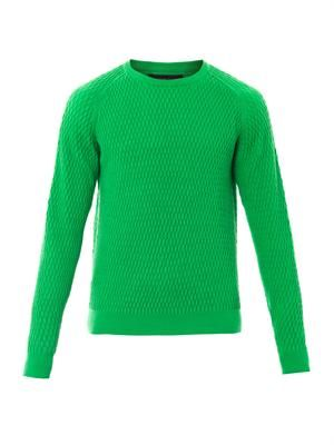 Nicolas bubble-stitch sweater
