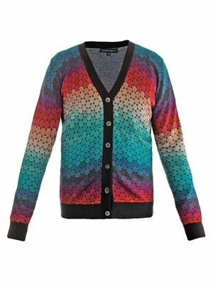 Aiden printed cardigan