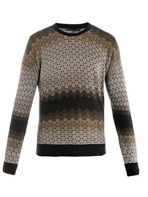 Marcus printed sweater