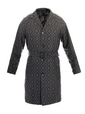 Gerard diamond wool coat