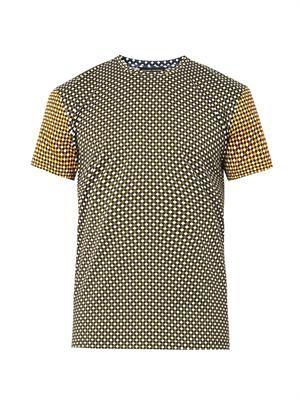 Hazard-print T-shirt