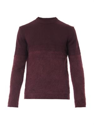 Textured dégradé sweater