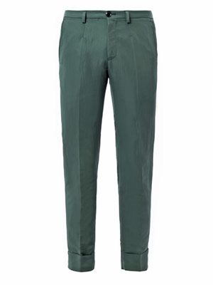Rippled shell trousers