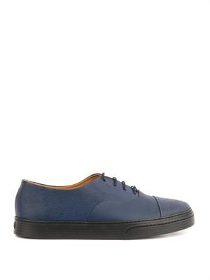 Vince rubber lace-up shoes