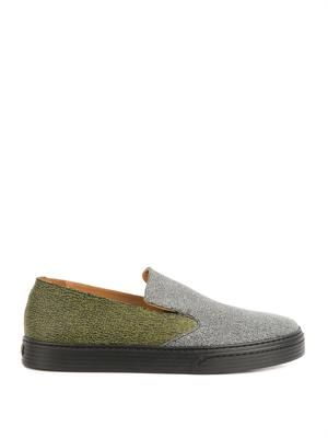 Venice rubber slip-on trainers