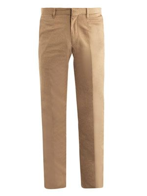 Formal cotton trousers