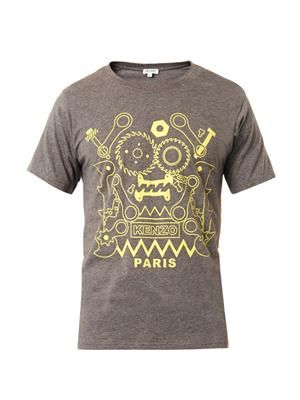 Monster Tool-print T-shirt