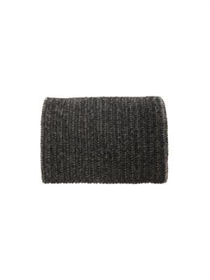 Ribbed-knit wool-blend snood