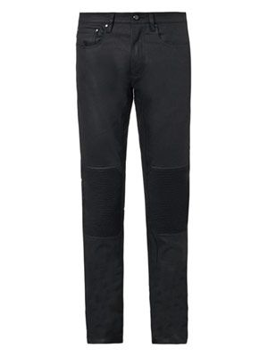 Blackrod straight-leg coated jeans