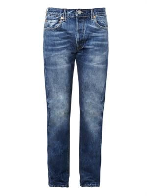 1966 501 tapered-leg jeans