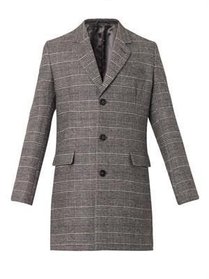 Prince of Wales-check coat