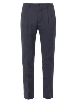 MAISON MARTIN MARGIELA Double-pleat tailored trousers
