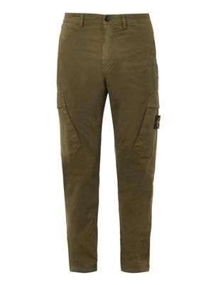 Tapered-leg cargo pants