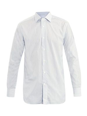 Rossini-fit Bruno collar shirt