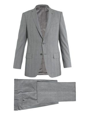 Milano 2 subtle check suit