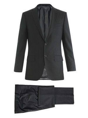 Milano 2 shadow stripe suit