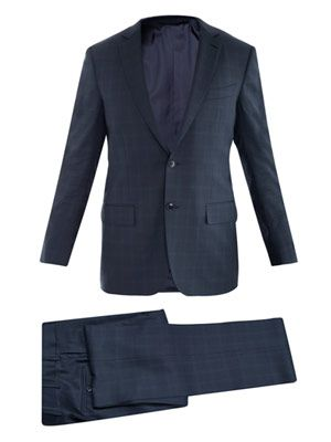 Milano wool single-breasted suit