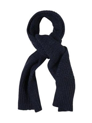Alpaca-blend scarf