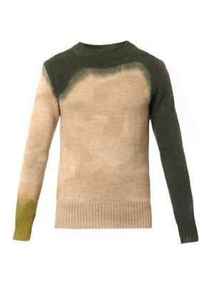 Sergeant dip-dyed wool sweater