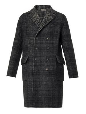 Reversible double-breasted overcoat