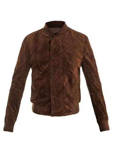 WISHLIST | Bottega Veneta Suede Bomber Jacket