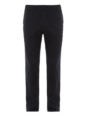 Cotton-jersey sweat trousers