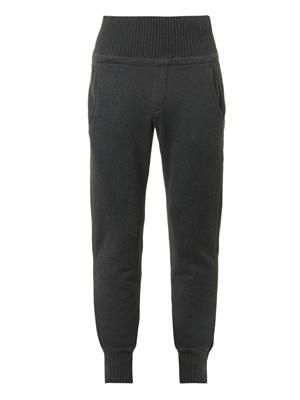 Tailored jersey track pants