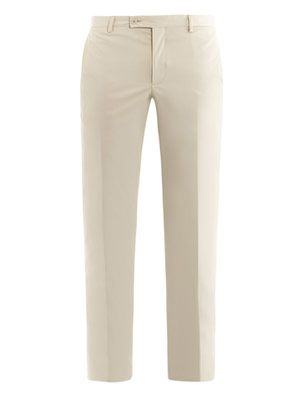 Summer techno gabardine trousers
