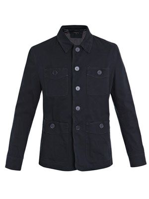 Four patch-pocket jacket