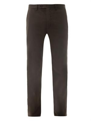 Cotton-blend trousers