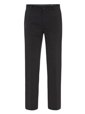 Linen slim trousers