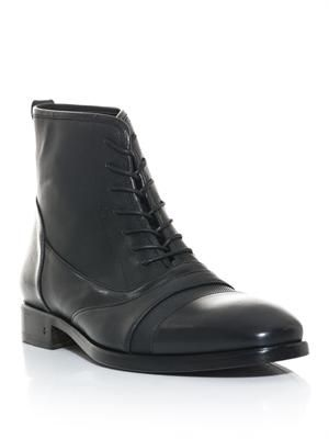 Fleetwood lace-up boots