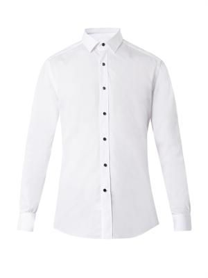 Cotton evening shirt