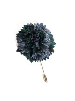 Carnation flower tie pin