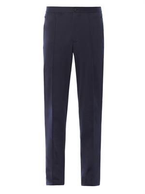Tailored cotton track pants