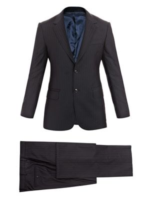 Attitude stripe suit