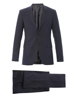 Evolution fit wool-blend suit