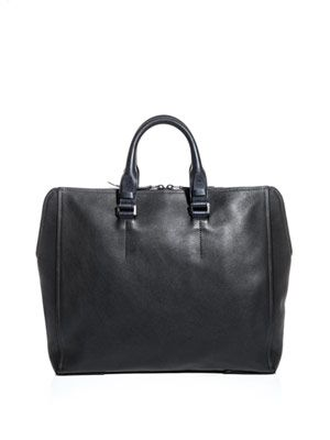 Leather day bag