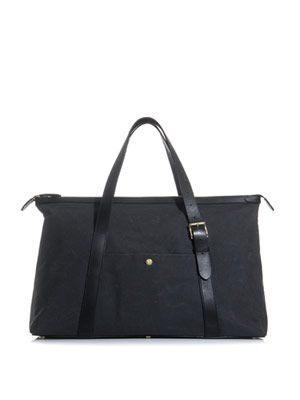 Canvas holdall
