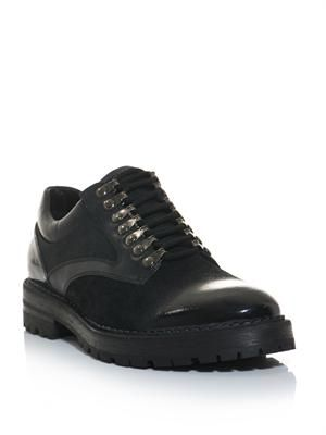 Technical lace-up shoes