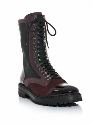 Technical lace-up boots