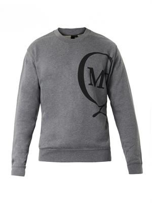 Logo-print cotton sweatshirt