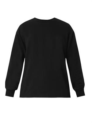 Zip-side sweatshirt