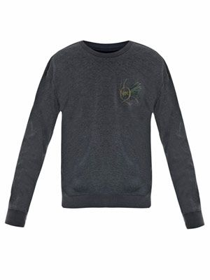 Dragonfly logo sweat top