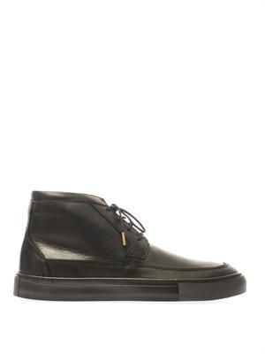 Chris leather chukka boots